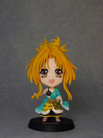 main photo of Oda Nobuna no Yabou Deformed Figure: Nobuna Oda