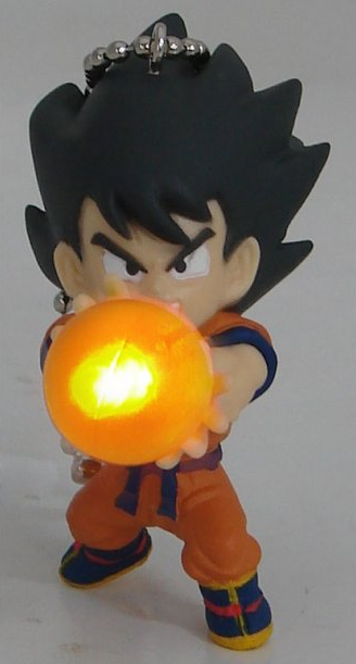 main photo of Dragon Ball Kai Led Light KeyChain: Son Goku Orange Ball Ver.