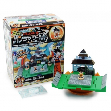 main photo of Dragon Ball Kai Panorama World Candy Toy: The Martial Arts Tournament Ground