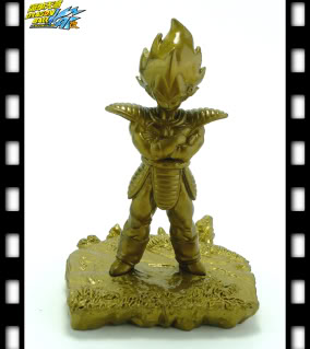 main photo of Dragon Ball Kai Rival Series Capsule: Vegeta Golden Ver.