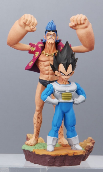 main photo of Dragonball Z x One Piece Capsule Neo: Franky & Vegeta