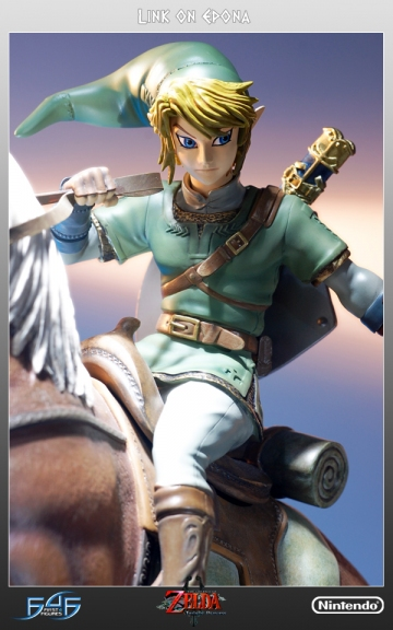 main photo of Twilight Princess Master Arts Link on Epona