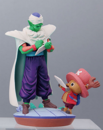 main photo of Dragonball Z x One Piece Capsule Neo: Piccolo & Chopper