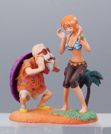 main photo of Dragonball Z x One Piece Capsule Neo: Nami & Master Roshi