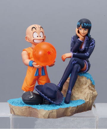 main photo of Dragonball Z x One Piece Capsule Neo: Kulilin x Robin