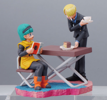 main photo of Dragonball Z x One Piece Capsule Neo: Bulma & Sanji