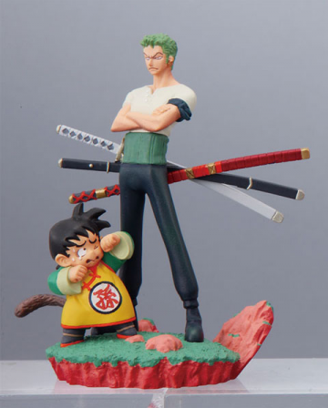 main photo of Dragonball Z x One Piece Capsule Neo: Zoro & Gohan