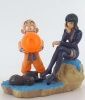 photo of Dragonball Z x One Piece Capsule Neo: Kulilin x Robin