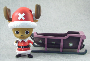 main photo of DB Kai x One Piece DX Santa Claus Chopper