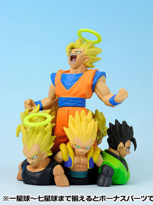 main photo of Dragon Ball Kai Neo The Movie Figure: Goku, Vegeta, Gohan, Gogeta, Goten, Trunks & Gotenks