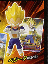 main photo of Dragon Ball Heros Collection: Vegeta SSJ