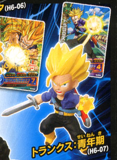 main photo of Dragon Ball Heros Collection 2: Trunks SSJ