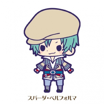 main photo of Tales of Friends Rubber Strap Collection Vol.4: Spada Belforma