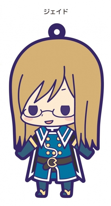main photo of Tales of Friends Rubber Strap Collection Vol.2: Jade Curtiss