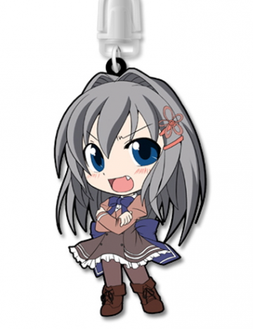 main photo of Akane-iro ni Somaru Saka Rubber Strap: Katagiri Yuuhi