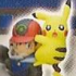 Pikachu The Movie Trading Figure: Ash & Pikachu