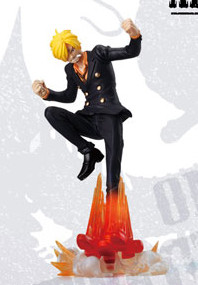 main photo of One piece Attack Motions 100.000 vs. 10: Sanji Poele a Frire Spectre