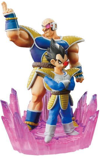 main photo of Dragon Ball Kai Capsule Neo Battle Highlight Vegeta & Nappa