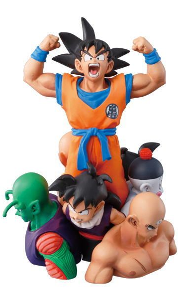 main photo of DB Kai Capsule Neo Battle Highlight Goku, Yamcha, Tenshinhan, Caos, Gohan, Kulilin & Piccolo