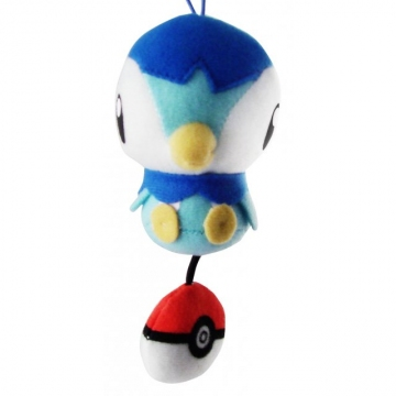 main photo of Pokemon Diamond & Pearl Mini Plush Doll: Piplup