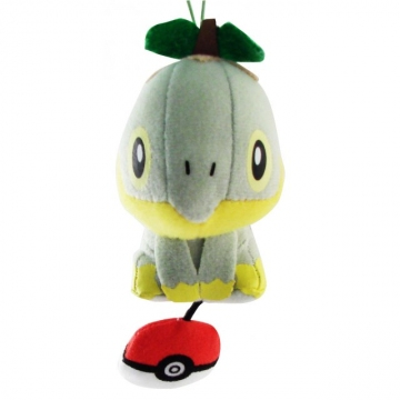 main photo of Pokemon Diamond & Pearl Mini Plush Doll: Turtwig