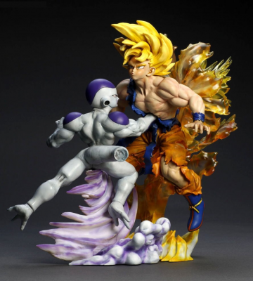 main photo of Battle Masterpiece Collection: Freeza VS Goku Battle Damage