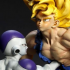 Battle Masterpiece Collection: Freeza VS Goku Battle Damage