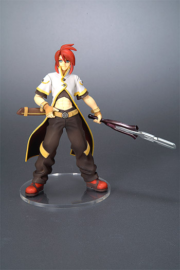 main photo of Tales of the Abyss One Coin Grande Figure Collection: Luke fon Fabre Special Weapon Ver.