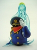 photo of Neo Super Figure Revolution - Galaxy Express 999: Conductor and Crystal Claire