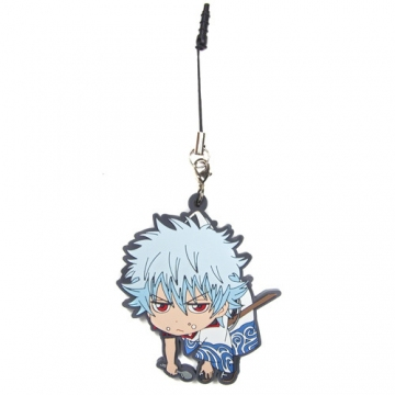 main photo of Earphone Jack Accessory Strap: Sakata Gintoki