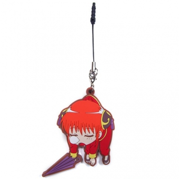 main photo of Gintama Tsumamare Pinched Strap: Kagura