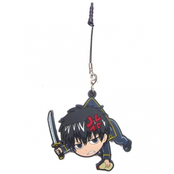 main photo of Gintama Tsumamare Pinched Strap: Hijikata Toushirou