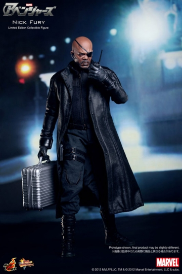 main photo of Movie Masterpiece Nick Fury
