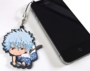 photo of Earphone Jack Accessory Strap: Sakata Gintoki