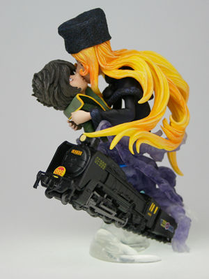 main photo of Neo Super Figure Revolution - Galaxy Express 999: Maetel and Hoshino Tetsuro