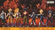 photo of Real Works Dragon Ball Selection Genealogy of Super Fighters: Son Goku SSJ3