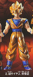 main photo of Real Works Dragon Ball Selection Genealogy of Super Fighters: Son Goku Super Saiyan