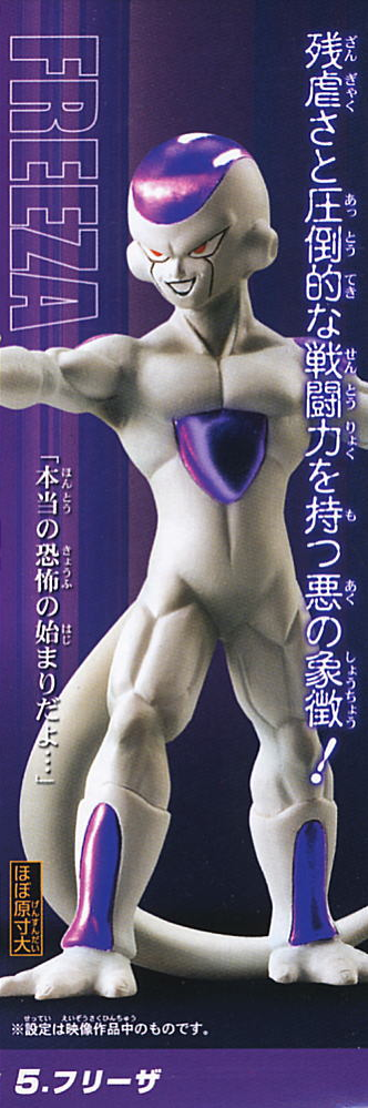 main photo of Real Works Dragon Ball Z Chapter of Super Saiyan of Legend: Freeza Final Form