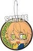 photo of Coaster Shaped Rubber Keychain: Shinomiya Natsuki