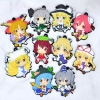 photo of Petanko Touhou Trading Rubber Strap Vol.3: Hinanai Tenshi