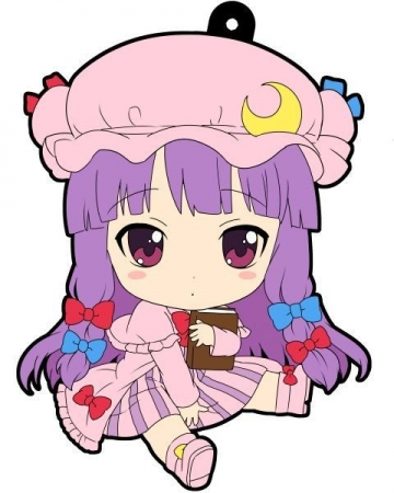 main photo of Petanko Touhou Trading Rubber Strap Vol.2: Patchouli Knowledge