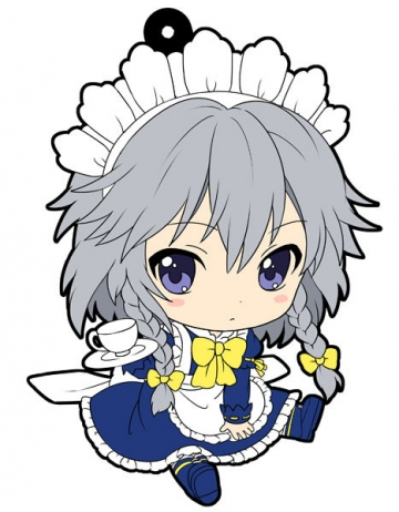 main photo of Petanko Touhou Trading Rubber Strap Vol.2: Izayoi Sakuya