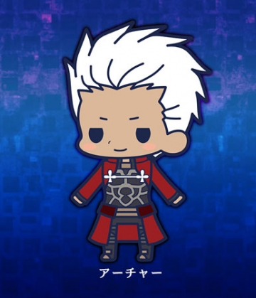 main photo of es Series Rubber Strap Collection Fate/stay night chapter 2: Archer