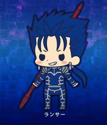 main photo of es Series Rubber Strap Collection Fate/stay night chapter 2: Lancer