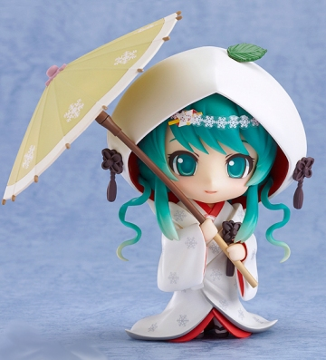 main photo of Nendoroid Snow Miku 2013 Strawberry White Kimono Ver.
