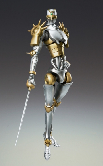 main photo of JoJo's Bizarre Adventure Super Action Statues: Silver Chariot Second Ver.