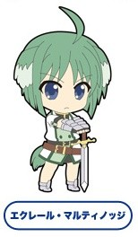 main photo of Dog Days - Eclair Martinozzi - Nendoroid Plus - Trading Rubber Strap Dog Days