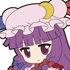 Nendoroid Plus Trading Rubber Strap Chap.2 Touhou Project: Patchouli Knowledge