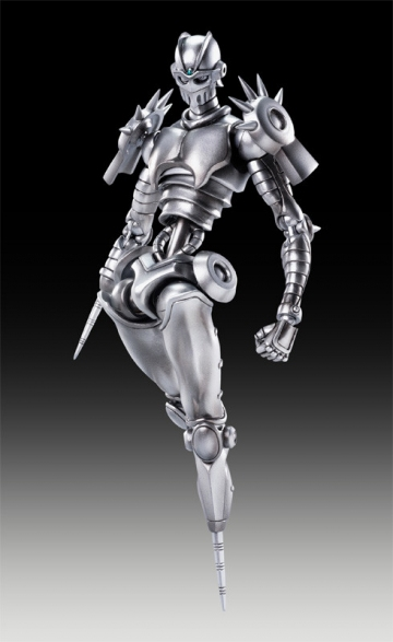 main photo of JoJo's Bizarre Adventure Super Action Statues: Silver Chariot with Coco Jumbo
