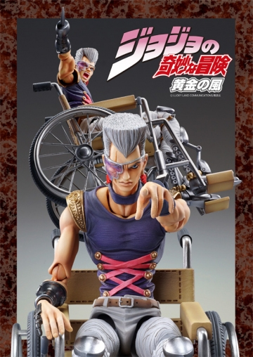 main photo of JoJo Super Action Statues: Jean Pierre Polnareff ver. 2